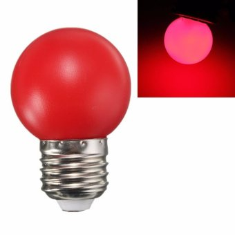 8Pcs E27 6 LED High Power SMD Spot Light Energy-saving Lamps Durable LED Bulb 220V (Red) - intl
