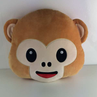 Monkey Ultra-soft Pillow Fluffy Cushion Toy Doll Gift Sofa Car Home Decor02 - 3