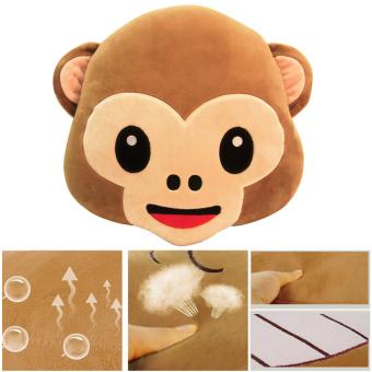 Monkey Ultra-soft Pillow Fluffy Cushion Toy Doll Gift Sofa Car Home Decor02 - 2
