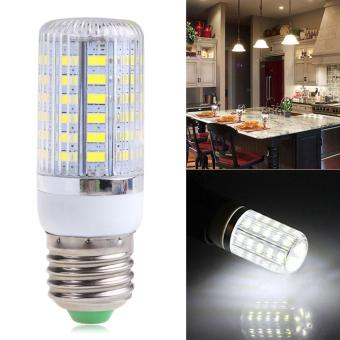 Harga E27 12W 56SMD 5730 5630 LED Spot Light Corn Lamp Bulb Cool White AC220V