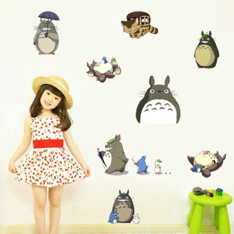 Harga TOTORO DIY Art Quote Wall Decal Decor Room Stickers Vinyl Removable Paper Mural Home 60cm X 30cm