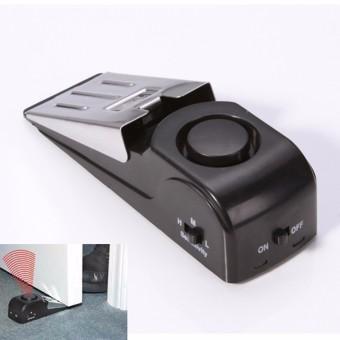 Home Security Door Stop Stopper Floor Doorstop Wedge Warning Alarm Alert System - 2