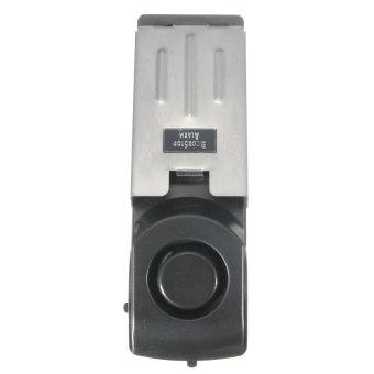 Home Security Door Stop Stopper Floor Doorstop Wedge Warning Alarm Alert System - 3