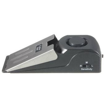 Home Security Door Stop Stopper Floor Doorstop Wedge Warning Alarm Alert System - 4