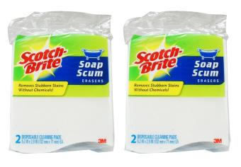 Harga [Bundle of 2] 3M™ Scotch-Brite® Soap Scum Eraser