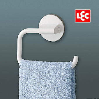 Harga Lec japanese kitchen bathroom strong suction cup suction wall towel hook bathroom towel rack plastic slip
