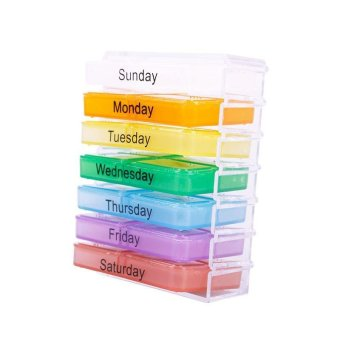Harga Buyincoins Weekly Storage Pill Organizer