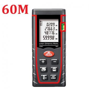 60M Laser Distance Meter Rangefinder Range Finder Build Measure Device Test Tool - intl