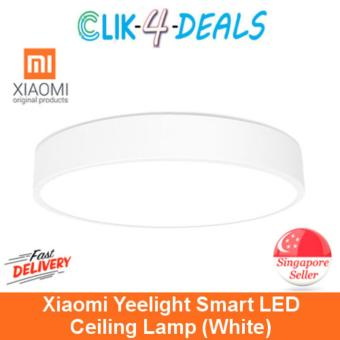 Harga Xiaomi Yeelight Smart LED Ceiling Lamp / White Color / Export Set w 3 Mths Warranty