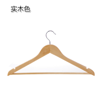 Harga 10 A Dress retro wood hanger wardrobe seamless hanging clothes rack clothes child support home wooden clothes hanging clothes rack