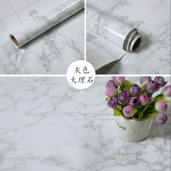 Harga Self adhesive marble furniture refurbished sticker waterproof pvc cabinets refurbished furniture renovation stickers adhesive stickers