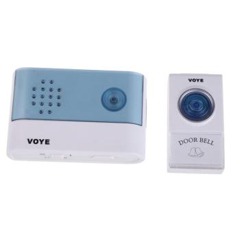 Wireless Doorbell Electronic Music Doorbell VOYE V004A with Indicator - 3