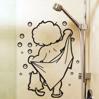 Harga W303 bath room bathroom shower room bathroom wall stickers
