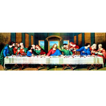 Harga The Last Supper 5D Diamond DIY Painting Craft Home Decor - intl