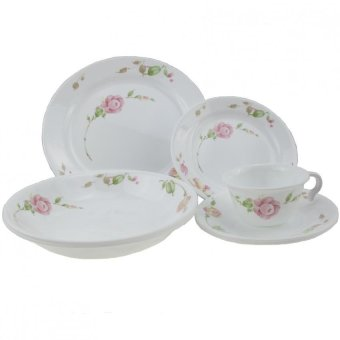Harga 20PCS CORELLE SET - COUNTRY ROSE