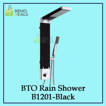 Vumn BTO Rain Shower B1201 - Black - 2