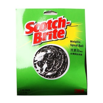 3M Scotch-Brite MSB Metallic Spiral Scrub