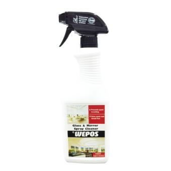 Harga WEPOS Glass and Mirror Spray Cleaner 0.75 Litre