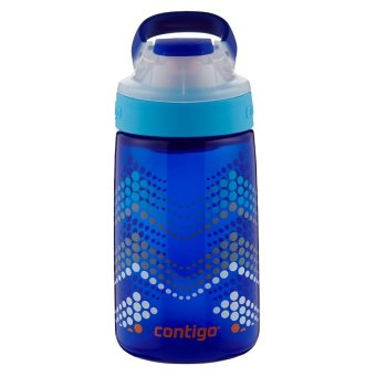 Contigo Autoseal Gizmo Sip Kids Water Bottle -14oz Sapphire Blue