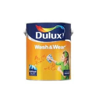 Harga Dulux Wash & Wear 1 L A902-Line (WW 25282L Lily White)