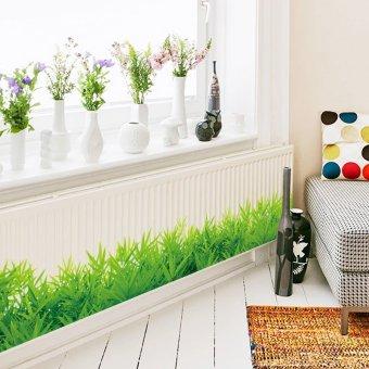 Yika Removable Grass Wall Sticker (Green) - 3