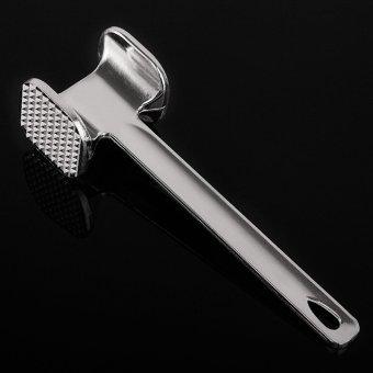 Harga Creative kitchen heavier solid aluminum meat hammer knock meat hammer meat hammer loose meat hammer steak tools double sided