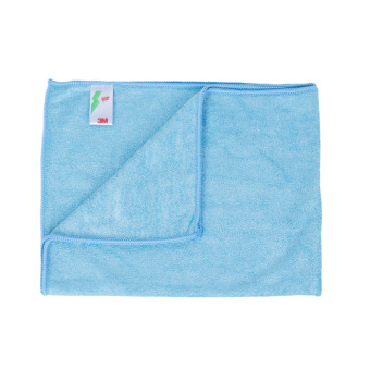 Harga 3M™ Scotch-Brite® Microfiber Highly Absorbent Large Cleaning Cloth TR16 - Blue - 10pc pack