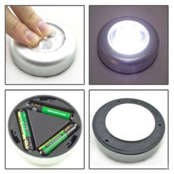 Harga New 3 LED Light Battery Powered Stick Tap Touch Light