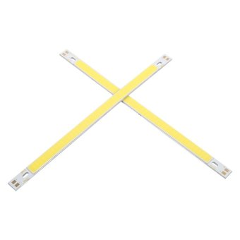 Harga 2pcs 10W COB LED Strip Lights Bulb Lamp White - intl