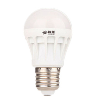 5PCS E27 3W White Energy Saving LED Light Bulb 220V