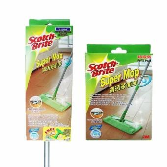 Harga 3M™ Scotch-Brite™ Super Mop with Scrapper + Refill