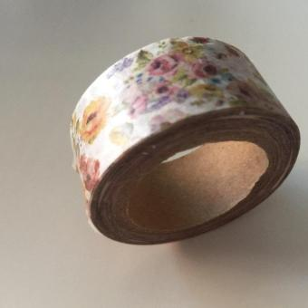 Harga Victorian Flowers PA2519 Washi Tape 20mm x 10m