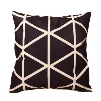Cotton Linen Throw Pillow Case Cushion Cover Geometry Nature Home Decor 01
