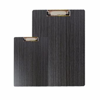 Harga 2 Pcs/ 1 Set Moden High Qualtiy Wooden A4 A5 File Music Clipboards Stationery Form Holder Storage Elegance Luxury Writing Drawing Office Wood Grain Rounded Corners Clipboard - intl