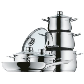 Harga WMF Diadem Plus 6pc Cookware Set