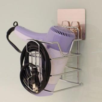 JustNile Hair Dryer Holder - Removable Wall Adhesive - 2