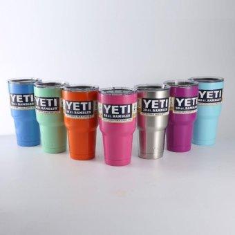 Hot Sale 30oz YETI Stainless Steel Cup Multicolor Coffee Mug Bottle - intl - 5