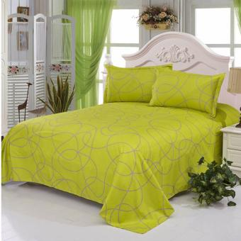 GoGoLife Soft Flat Bed Sheet-25# Green