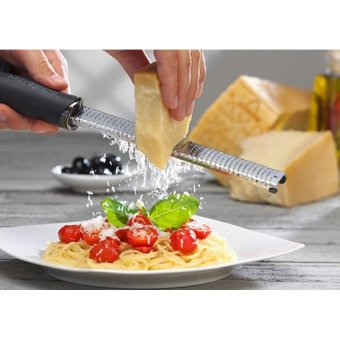 Harga Stainless Steel Classic Fine Kitchen Cheese Vegetable Ginger ZesterLemon, Ginger, Garlic, Nutmeg, Chocolate, Vegetables Grater (...) (...)-intl