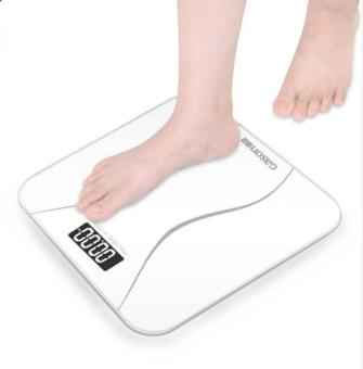 Harga A2 Bathroom Scales Digital Smart Scale Weight Scale(White) - intl