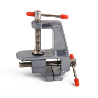 Harga Aluminum Mini Small Jewelers Hobby Clamp On Table Bench Vise Tool Vice