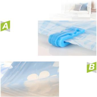 High Quality Vacuum Storage Bag Set of 10 bags + Free manual pump - 5