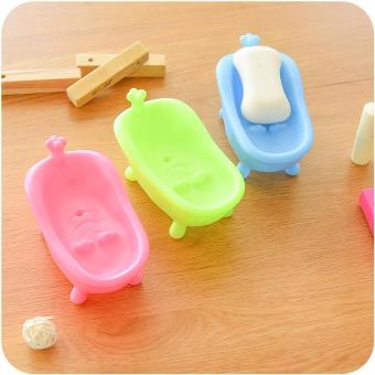 Harga Lovely Creative bathroom Soap Dish Without Cover Soap Box - intl