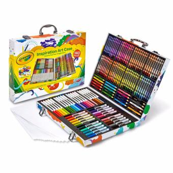 Harga Crayola Art Case (140 Pieces of Crayons, Coloured Pencils, Markers & Paper)