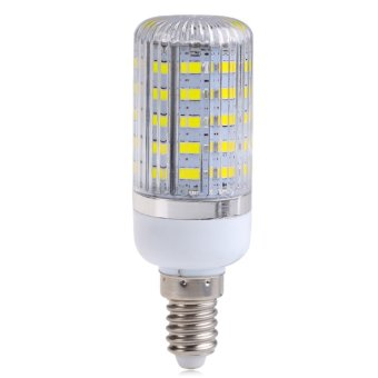 Harga E14 10W 48SMD 5730 5630 Light Corn Lamp Bulb Cool White AC220V