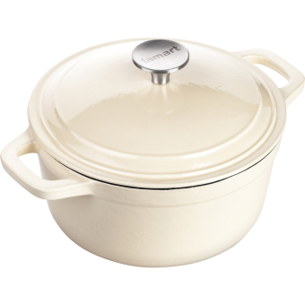 Induction Ready Cast Iron Pot with Lid 26cm/5L