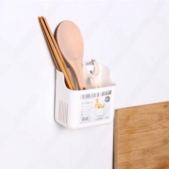 Inomata Plastic Chopsticks Tube Spoon Storage Box Bucket Storage Rack
