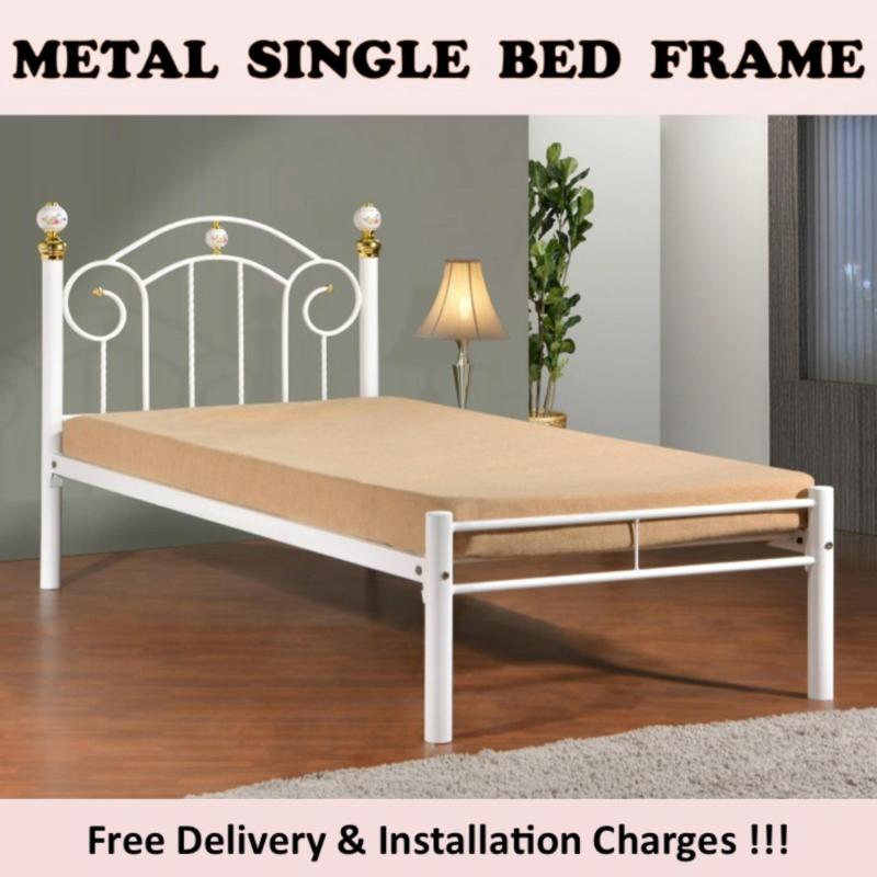 JAMILA Single Bed with Plywood
