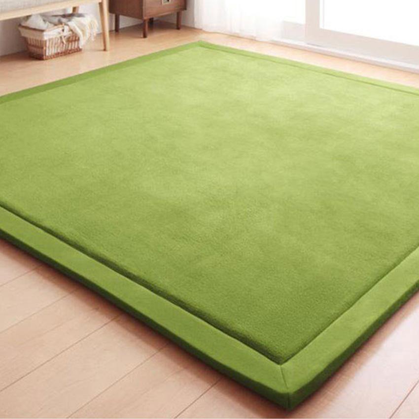 Japanese Premium Living Room Carpet Mats Green 130190cm