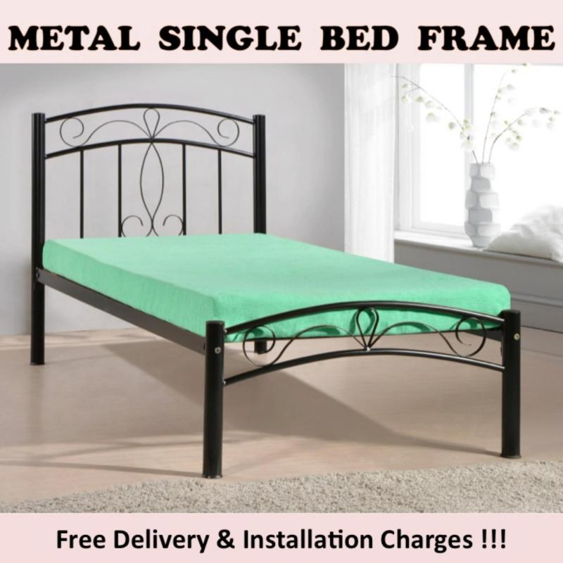 JEAN Single Bed with Pull Out Bed + 1 Plywood